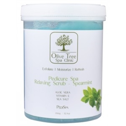 PEELING ΠΟΔΙΩΝ 1500gr SPA RELAXING SCRUB SPEARMINT