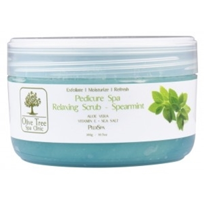 PEELING ΠΟΔΙΩΝ 300gr SPA RELAXING SCRUB SPEARMINT