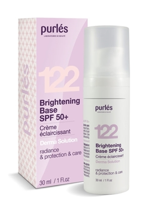Εικόνα της 122 Brightening Base SPF 50+ - Κρέμα προσώπου Purles
