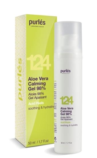 Εικόνα από 124 Aloe Vera Calming Gel 98% - Καταπραϋντικό τζελ προσώπου  Purles