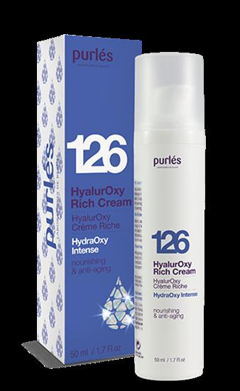 Εικόνα από 126 HyalurOxy Rich Cream - Κρέμα πλούσια σε Υαλουρονικό οξύ Purles
