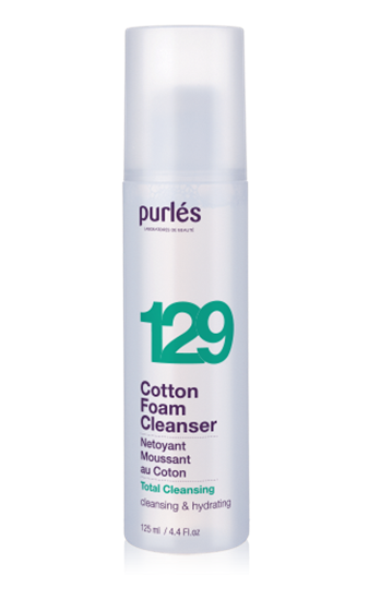 Εικόνα από 129 Cotton Foam Cleanser - Αφρός Καθαρισμού Purles