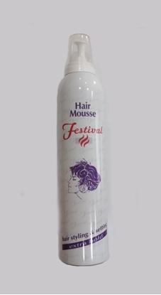 Εικόνα της HAIR MOUSSE FESTIVAL EXTRA HOLD 300ml LADY-F