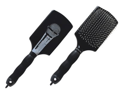 Εικόνα της MICROPHONE PADDLE BRUSH CORIOLISS