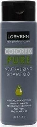 Εικόνα της COLORFIX PURE NEUTRALIZING SHAMPOO 200ml LORVENN